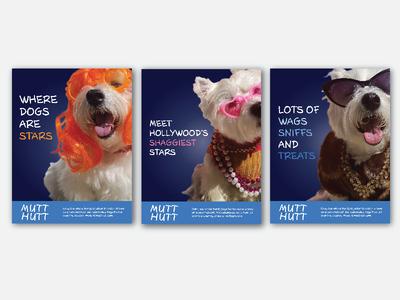 Mutt Hutt Print Advertisements