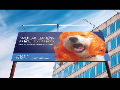 Mutt Hutt Billboard Ad