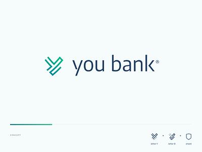 You Bank banco logomarca logotipo identidade visual brand branding logotype logo you bank bank