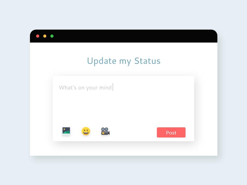 Status Update animation customer journey map branding minimalistic minimalist discover app customer experience minimal 100daychallenge web ux daily ui challenge design daily challenge ui