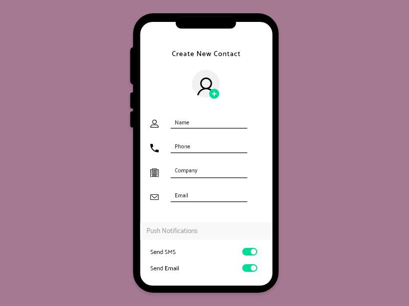 Create New branding minimalistic minimalist discover app customer experience minimal 100daychallenge web ux daily ui challenge design daily challenge ui