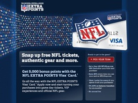 Barclaycard NFL Extra Points collateral