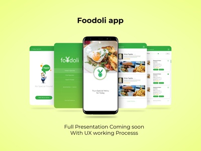 Foodoli App Presentation