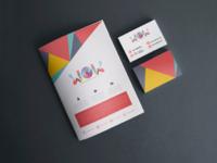 WOW SME Logo, Namecard, Newsletter Design