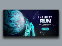 Infinity Run Mobile Game - Feature Image