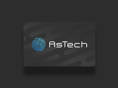 Astech Logo + Visual Identity