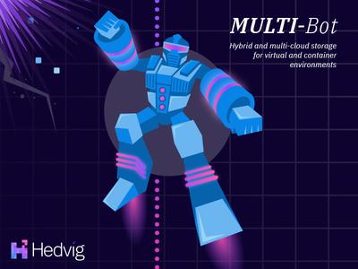 Multi-Bot Illustration