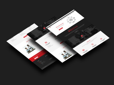 Pensa Labs Website Design networking network devops website design home page web design branding devsecops