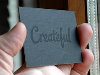 Createful Business Cards