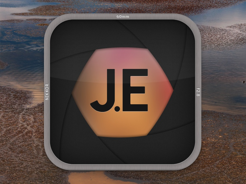 iPhone icon brown iphone ios icon photography camera aperture lens