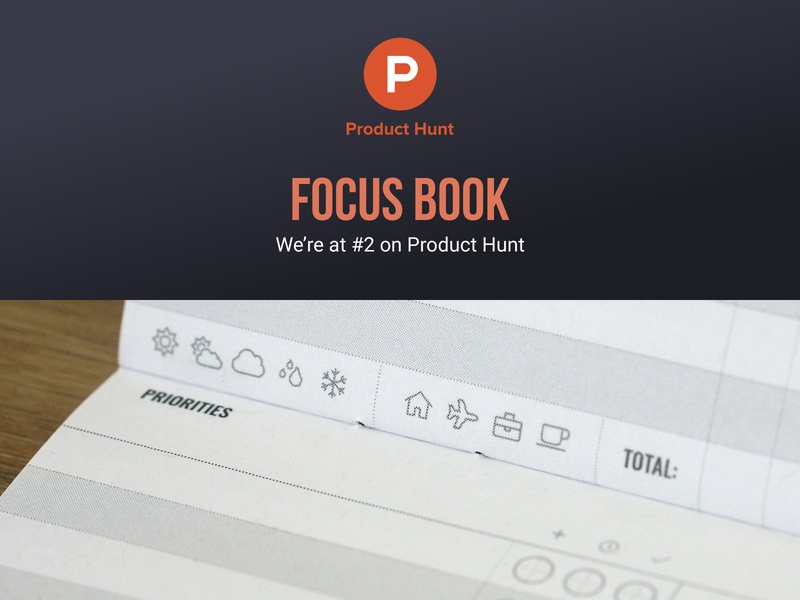 #2 on Product Hunt