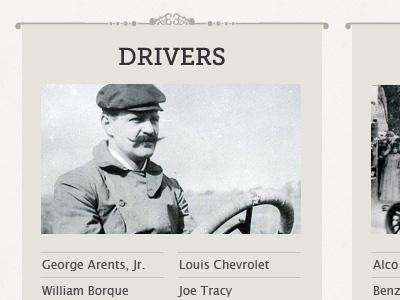 Vanderbilt drivers