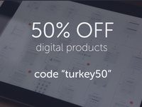 50% Off UX Kits