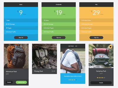 Freebie - Omni UI Kit