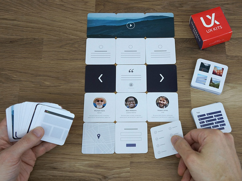 New: Wireframe Deck of Cards