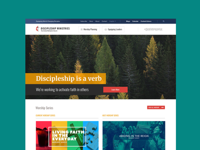 Discipleship Ministries Site Launch
