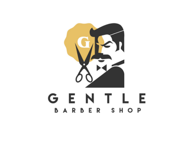 Gentle Barber Shop logo logodesign design