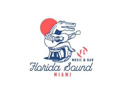 Florida Sound logo logodesign design
