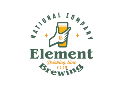 Element Brewing logo logodesign design