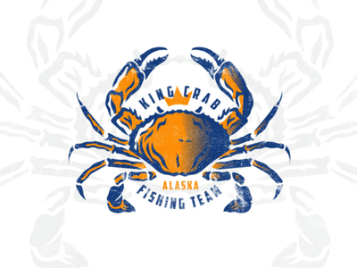 King Crab logodesign design brand