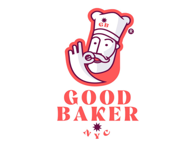 Good Baker logodesign design brand