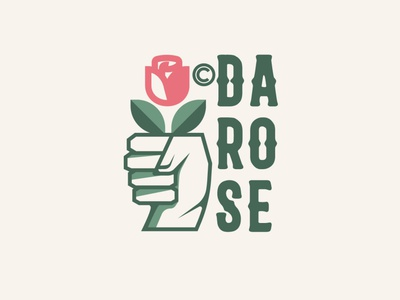 DAROSE diseño plano tipografía plano ilustración design logo logodesign design logotipo diseño de logo logodesign design brand logo