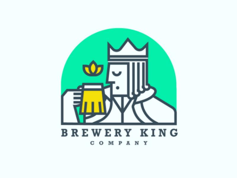 Brewery king 🍺 logo logodesign design