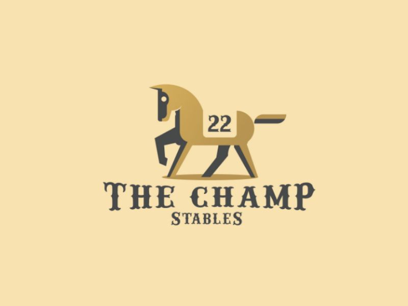 The Champ logodesign design brand