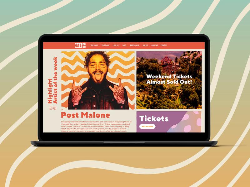 Mysteryland 2020 - Website concept nozem design mysteryland festival artwork event branding event artwork festival app event app ux ui design ui product design mobile ui mobile flatillustration drawing studio design concept application