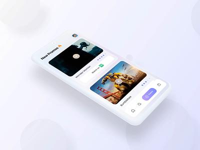 Movie Trailers App - UI Design & Video Prototype ui ux user experience landing page prototyping principle movies design ui design mobile app design prototype animation movie app