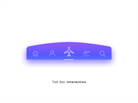 Menu Tab Bar Micro Interaction