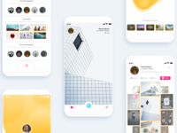 Photo Sharing App UI Design