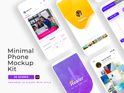 Adobe Xd Mockup designs, themes, templates and downloadable