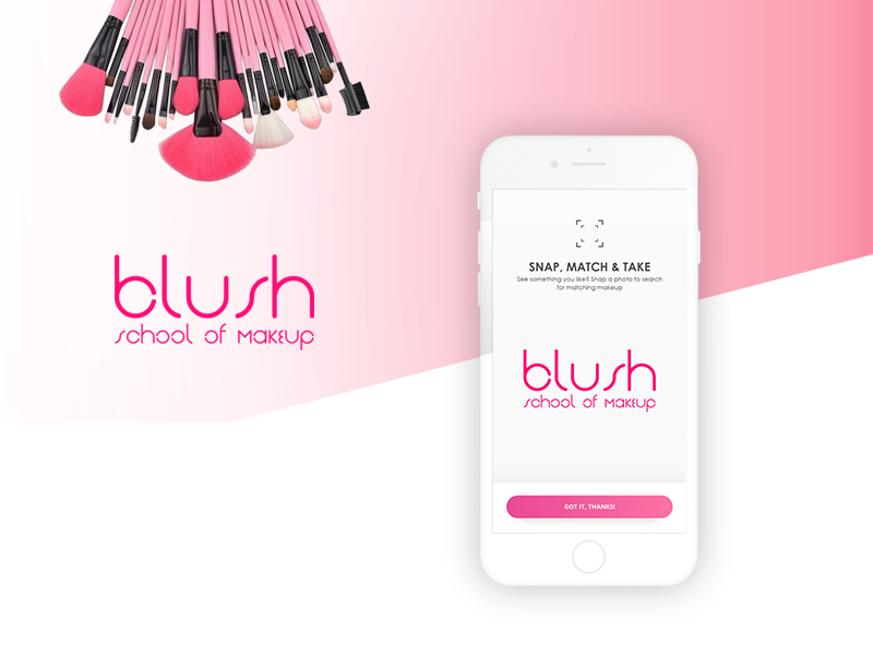 Makeup Matching Application mobile application ux design interaction design ui design