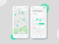Booking and Location UI kit
