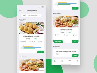 Online Restaurant App UI