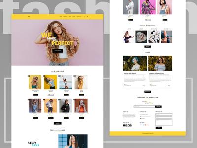 E-commerce Landing Page for Women's Fashion