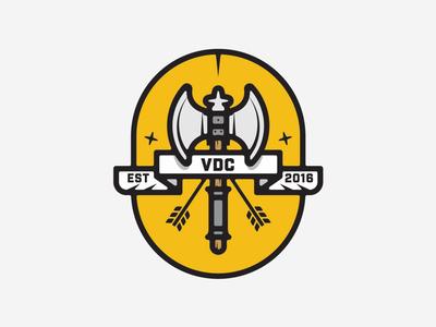 VDC Axe Badge