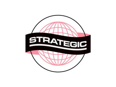 Strategic Globe + Banner