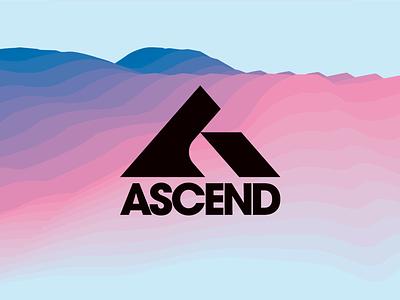 ASCEND vanguarddesignco branding typelogo branddesign brandlogo alogo customtype typetopia letterlogo ascend lettera logotype lettermark a logodesigner logodesign logo