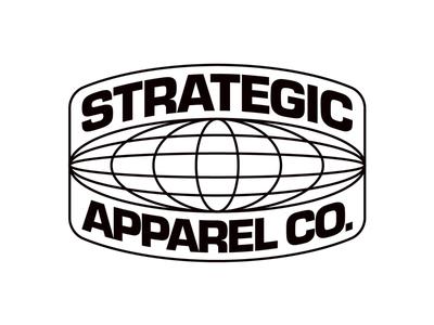 Strategic Apparel Globe Badge