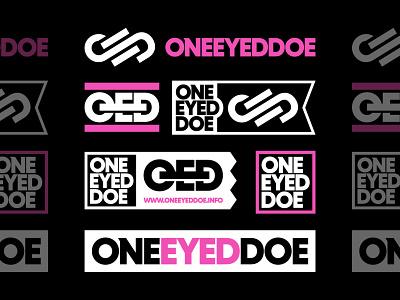 OneEyedDoe Brand Bundle (pt.2) apparel bundle thick bold logo type typography type logo designer logo design vanguard merch logodesign branding design logotype brand logo brand identity brand design branding logo