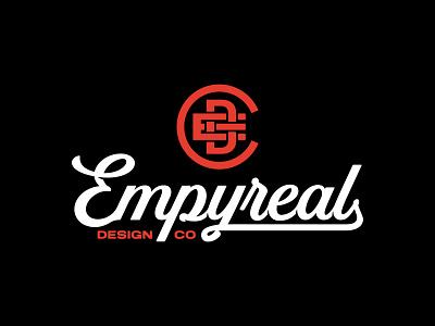 Empyreal Logo Design logodesign logos vanguard branding design brand logo brand design brand identity identity bold word wordmarks wordmark typography custom type logotype branding brand logo