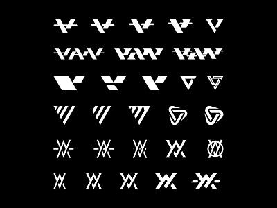 Vanguard Logo Concepts apparel merch brandlogo logodesign vanguard bold clean simple logotype wordmark lettermark typography type letter identity branding brand logos logo