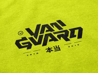 Vanguard Wordmark clothing apparel vanguard merch modern clean simple bold word logo letter logo lettering typography type wordmark word identity branding brand logos logo