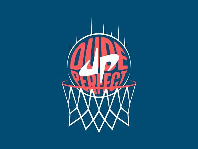 DUDE PERFECT // Apparel Design bundle apparel merch vanguard dude perfect loud strong modern bold simple logo design sports sport basketball icon brand branding logo