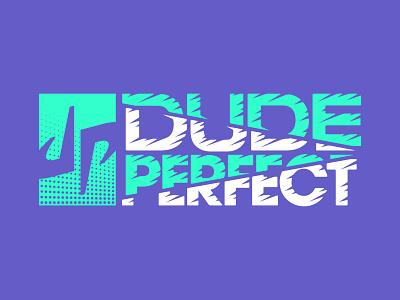 DUDE PERFECT // Apparel youtube youtuber influencer basketball branding simple vanguard dude perfect sports sport loud clean modern bold shirt apparel merch
