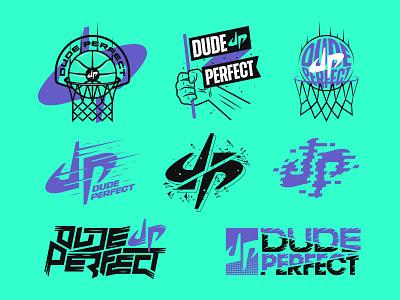 DUDE PERFECT // Brand Bundle youtube vanguard clean loud bold modern extreme basketball shirt apparel merch sports dude perfect flash collection kit bundle brand branding logo