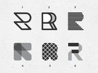 Letter R exploration