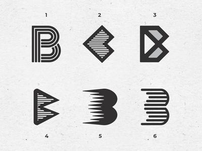 Letter B exploration